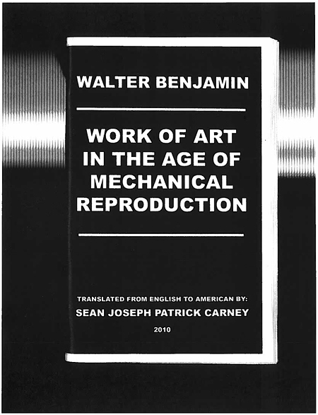 The Work of Art in the Age of its Technological Reproducibility